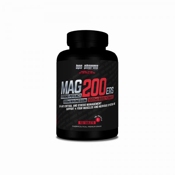 MAG 200ers – 1000 mg Magnesium - Bisglycinat (enthält 200mg elementares Magnesium)