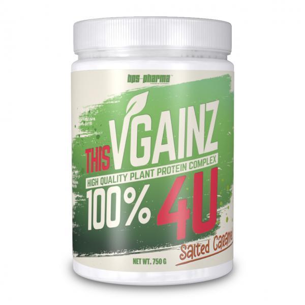 Veganes Proteinpulver VGAINZ 4U Salted Caramel