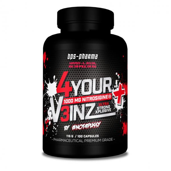 Nitrosigine Kapseln 4 Your Veinz Plus Pump Fokus Front