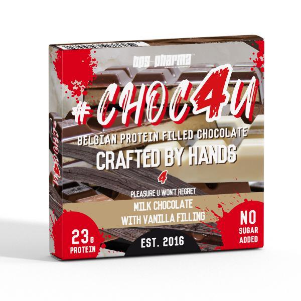 BPS-Pharma - Choc 4U - Protein Chocolate Vanilla Filling