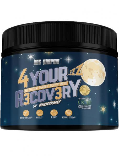 4 Your Recovery - Schlaf und Regenerations Booster mit Melatonin und UCII®