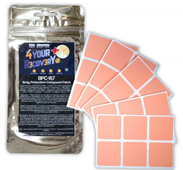 4 Your Recovery Plus BPC-157 Body Protection Compound Patch